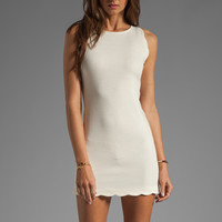 Talulah Floral Skies High Neck Mini Dress in White from REVOLVEclothing.com