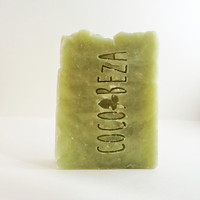 PEPPERMINT TEA TREE Handmade Soap-Natural and Organic Ingredients, Shea Butter, Coconut Oil, Olive Oil, Pure Essential Oils