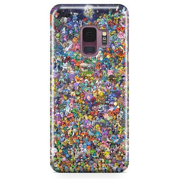 All Pokemon Samsung Galaxy S9 Case | Casefantasy