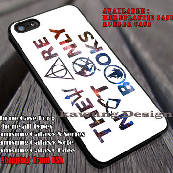 They Are Not Only Books | Harry Potter iPhone 6s 6 6s+ 6plus Cases Samsung Galaxy s5 s6 Edge+ NOTE 5 4 3 #movie #HarryPotter ii