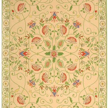 Chelsea Transitional Indoor Area Rug Beige / Green