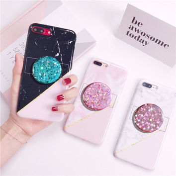 Holographic Iridescent Sparkle DECAL/STICKER ONLY stand for selfie HOLDER | eBay