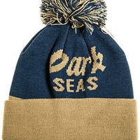 The Doodlesock Beanie in Blue & Khaki