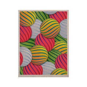 "Danny Ivan ""Melons"" Pink Green KESS Naturals Canvas (Frame not Included)"
