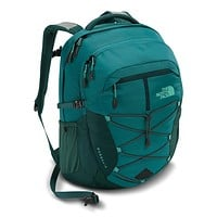 Women's Borealis Backpack in Harbor Blue and Atlantic Deep Blue by The North Face