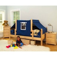 Maxtrix Kids Twin Daybed / Toddler Bed with Top Tent - Yo - Baby & Kids' Furniture - Furniture