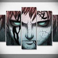 Naruto Group Painting Wall Art  Canvas