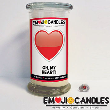 Oh, My Heart! - Emoji Candles