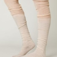 Free People Mesh Ballet Tall Sock at Free People Clothing Boutique