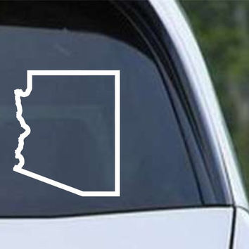 Arizona State Outline AZ - USA America Die Cut Vinyl Decal Sticker