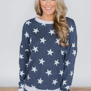 The Star Attraction Top ~ Blue