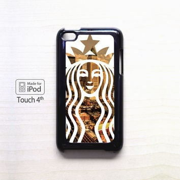 Starbucks New York for Ipod 4/Ipod 5 apple case