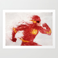Speed Art Print by Melissa Smith