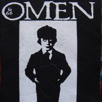 THE OMEN patch horror movie satan Free Shipping