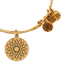 Alex and Ani New Beginnings ONE Campaign Bangle Silver Finish