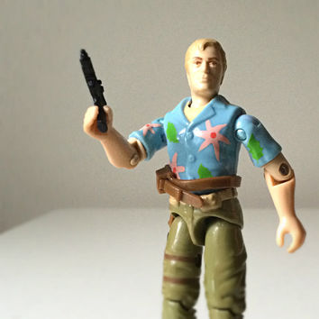 1980s GI Joe Toy, Action Figure - Chuckles - Hasbro