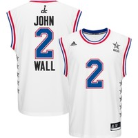 adidas Men's John Wall #2 2015 All-Star Game White Eastern Conference Replica Jersey | DICK'S Sporting Goods