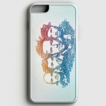 Coldplay Faces Lyrics Design iPhone 6 Plus/6S Plus Case | casescraft