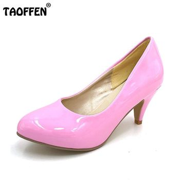 pointed toe fashion pumps P3939