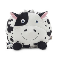 Chloe The Cow With Lil Buddy