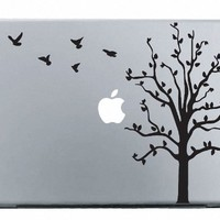 Tree MacBook Decal Mac Apple skin sticker