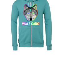 WOLF GANG - Unisex Full-Zip Hooded Sweatshirt