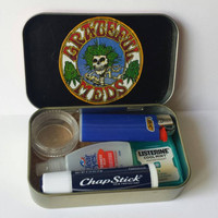 Grateful Meds Stash Box or Marijuana Recovery Kit
