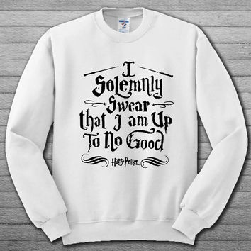 I solemnly Swear Shirts Harry Potter Sweatshirt # For Women , Men  Sweatshirt