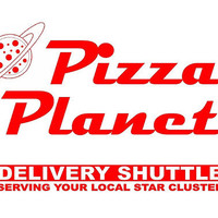 Toy Story Pizza Planet Sign