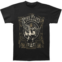 Pink Floyd Men's  Flying Pig T-shirt Black Rockabilia