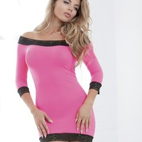 Off The Shoulder Tunic and G-String