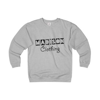 Madison Unisex Heavyweight Fleece Crew