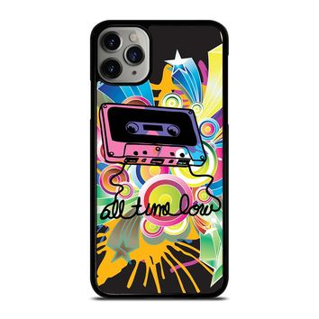 ALL TIME LOW RETRO CASSETE iPhone Case Cover