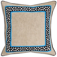 TURQUOISE PALM SPRINGS THROW PILLOW