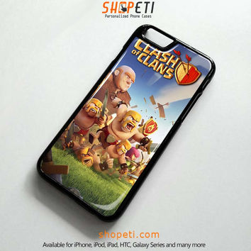 CLASH OF CLANS Case for iPhone Galaxy HTC iPad iPod