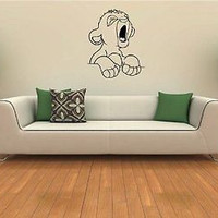 Lion King Cub Wall Art Sticker Decal 364