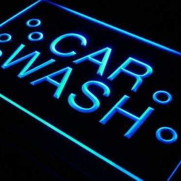 Car Wash Bubbles LED Neon Light Sign