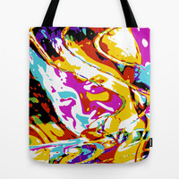 Woman Tote Bag by Stephen Linhart