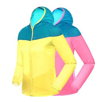 New! Womens Windproof Hiking Jacket
