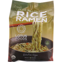Lotus Foods Ramen - Organic - Jade Pearl Rice - 4 Ramen Cakes - 10 Oz - Case Of 6