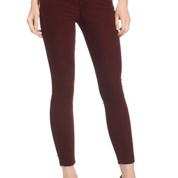 7 For All Mankind® Velvet Ankle Skinny Pants | Nordstrom