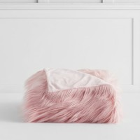 Isabella Rose Taylor Himalayan Faux-Fur Throw