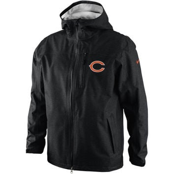 Nike Chicago Bears Storm-FIT Shell Jacket - Black