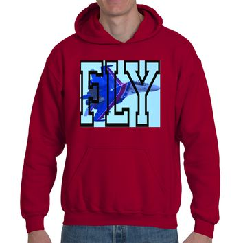 FLY| Heavy Blend™ Fleece Hoodie | Underground Statements