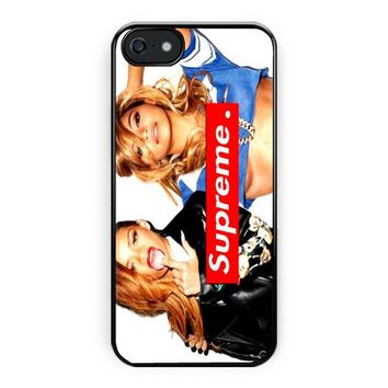 Rihanna & Beyonce Supreme iPhone 5/5S Case