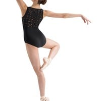 JFM Diamond Patchwork Back Tank Leotard / Bloch