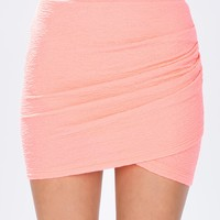 Rachel Wrap Mini Skirt