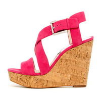 MICHAEL Michael Kors  Giovanna Cork Wedge Sandal