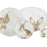Damask Easter Bunny Collection