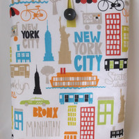 East Coast,  Macbook Pro 13 case,  Laptop Bag, 13 inch Laptop Case, Laptop case, Macbook Pro Case, Brooklyn, New York, Etsy
